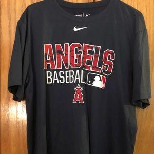 Nike Mlb Angels Dri-fit xl navy shirt